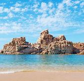 Costa Paradiso sand — Stockfoto