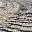 Tire tracks — Stock Photo