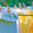 Laundry line — Stock Photo