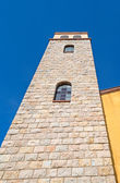 Bell tower seen from below — Stock Photo
