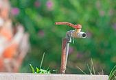 Rusty faucet — Stock Photo