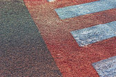 Crosswalk detail — Stock Photo