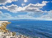 Fertilia coastline — Stock Photo