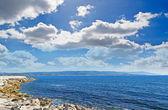 Fertilia coastline — ストック写真