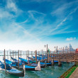 Gondolas in Venice — Stock Photo #41286069