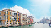 Grand Canal under clouds — Stock Photo