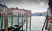 Dramatic sky over Venice — Stock Photo
