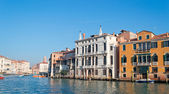 Grand Canal bank  — Stock Photo