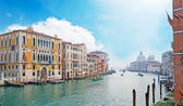 Grand Canal under clouds — Stockfoto