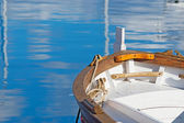 Boat moored — Stock Photo