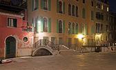 Picturesque corner in Venice — Foto Stock