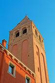 San Vidal bell tower — Stock Photo