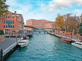 Small canal in Venice — Stock Photo