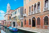 威尼斯运河细节 — 图库照片