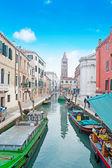 Venice canal under a blue sky — Stock Photo