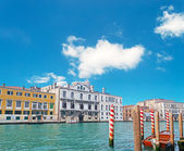 White clouds over Venice — Stok fotoğraf