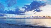 Pôr do sol azul — Foto Stock