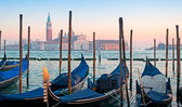 Clear sunset in Venice — Stock Photo