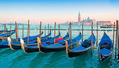 Clear sky in Venice — Stock Photo