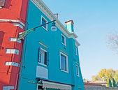 Kolorowe budynki w burano — Zdjęcie stockowe