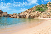 Costa Paradiso beach — Foto de Stock