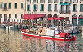 Courier boat — ストック写真