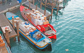 Courier boats — Foto de Stock