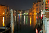 Grand Canal poles — ストック写真