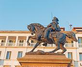 Kral victor emmanuel II heykeli — Stok fotoğraf