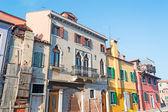 Burano old building — Zdjęcie stockowe