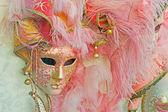 Máscara rosa — Foto de Stock