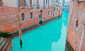 Bricks and canal — Stock Photo