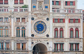 Detail of Venice clock tower — Stock Photo