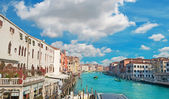Clouds over Grand Canal — Stock Photo