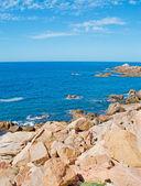 Costa paradiso rochas — Foto Stock
