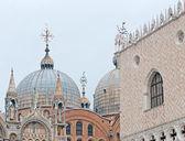 Foggy day in Venice — Stock Photo