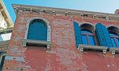 Old windows and facade — Stock Photo