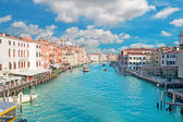 Scenic clouds in Venice — Stock Photo