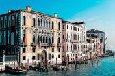 Sketch of Canal Grande on a clear day — Stock Photo