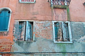 Venetian facade — Stock Photo