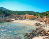 Cala Dragunara coast — Stock Photo