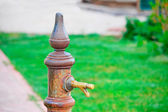 Rusty spigot — Stock Photo
