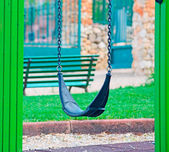 Seesaw in a park — Foto de Stock