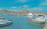 Castelsardo harbor — Stock Photo