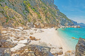 Cala Mariolu rocky shore — Stock Photo