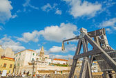 Catapult in Alghero — Stock Photo