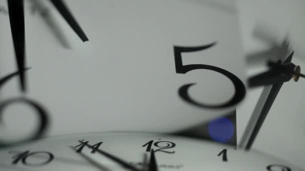 Reloj, — Vídeo de stock