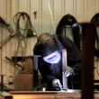 Stock Video: Clip Welder