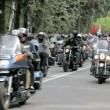 Stock Video: Motorcyclists