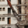 Demolition of old buildings — Stock Photo #13362215